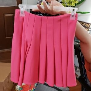 Pink H&M skirt size 4